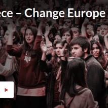«Αλλαγή στην Ελλάδα, Αλλαγή στην Ευρώπη, Αλλαγή για όλους»