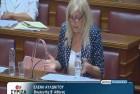 Ελένη Αυλωνίτου, Επιτροπή Μορφωτικών Βουλής στις 2/8/2016