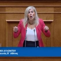 Ελένη Αυλωνίτου, ομιλία στη Βουλή στις 25/4/2017