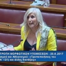 Ελένη Αυλωνίτου, Επιτροπή Μορφωτικών Βουλής στις 23/6/2017