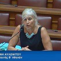 Ελένη Αυλωνίτου, Επιτροπή Κοινωνικών Υποθέσεων στις 4/9/2017
