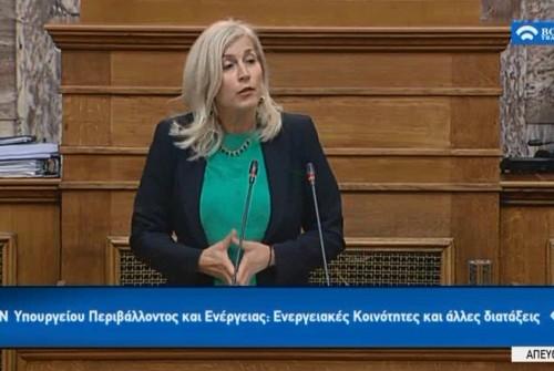 Ελένη Αυλωνίτου, ομιλία στη Βουλή στις 17/1/2018