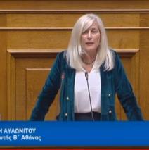 Αυλωνίτου: Ομιλία στη Βουλή για τον Προϋπολογισμό 2019 στις 13.12.18
