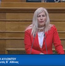 ΕΛΕΝΗ ΑΥΛΩΝΙΤΟΥ: Εισηγήτρια στην Επιτροπή Μορφωτικών στις 27.2.2019